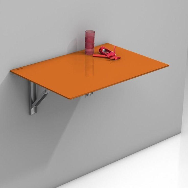 Mesa plegable de melamina abatible s 79 99 en mercado libre for Mesas tableros plegables