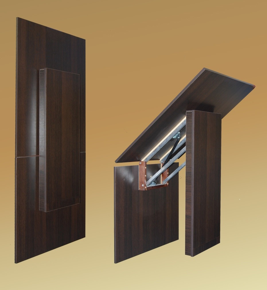 Mesa plegable de pared bs en mercado libre - Mesa plegable con sillas dentro ...