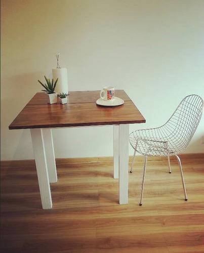 mesa plegable extensible para espacios chicos  a8
