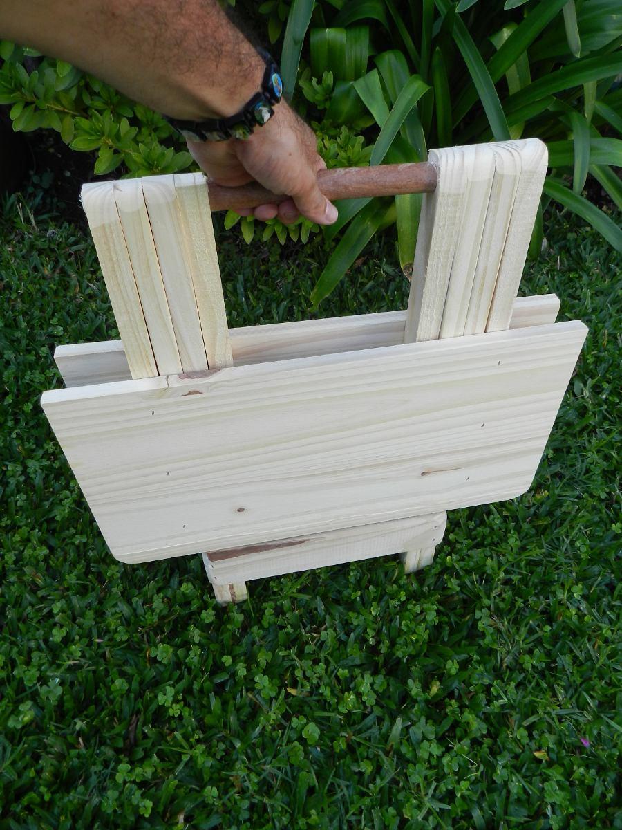 Mesa de madera jardin venta mesa madera para exteriores for Mesas de camping plegables baratas
