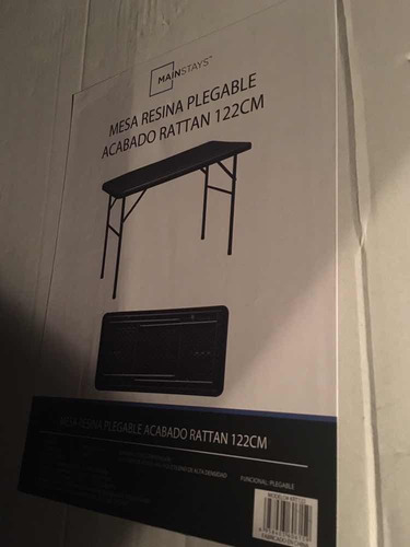 mesa plegable mainstays
