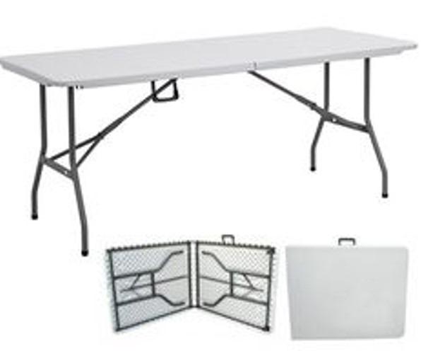 Mesa plegable maletin portatil facil limpiar anti for Mesa plegable maletin