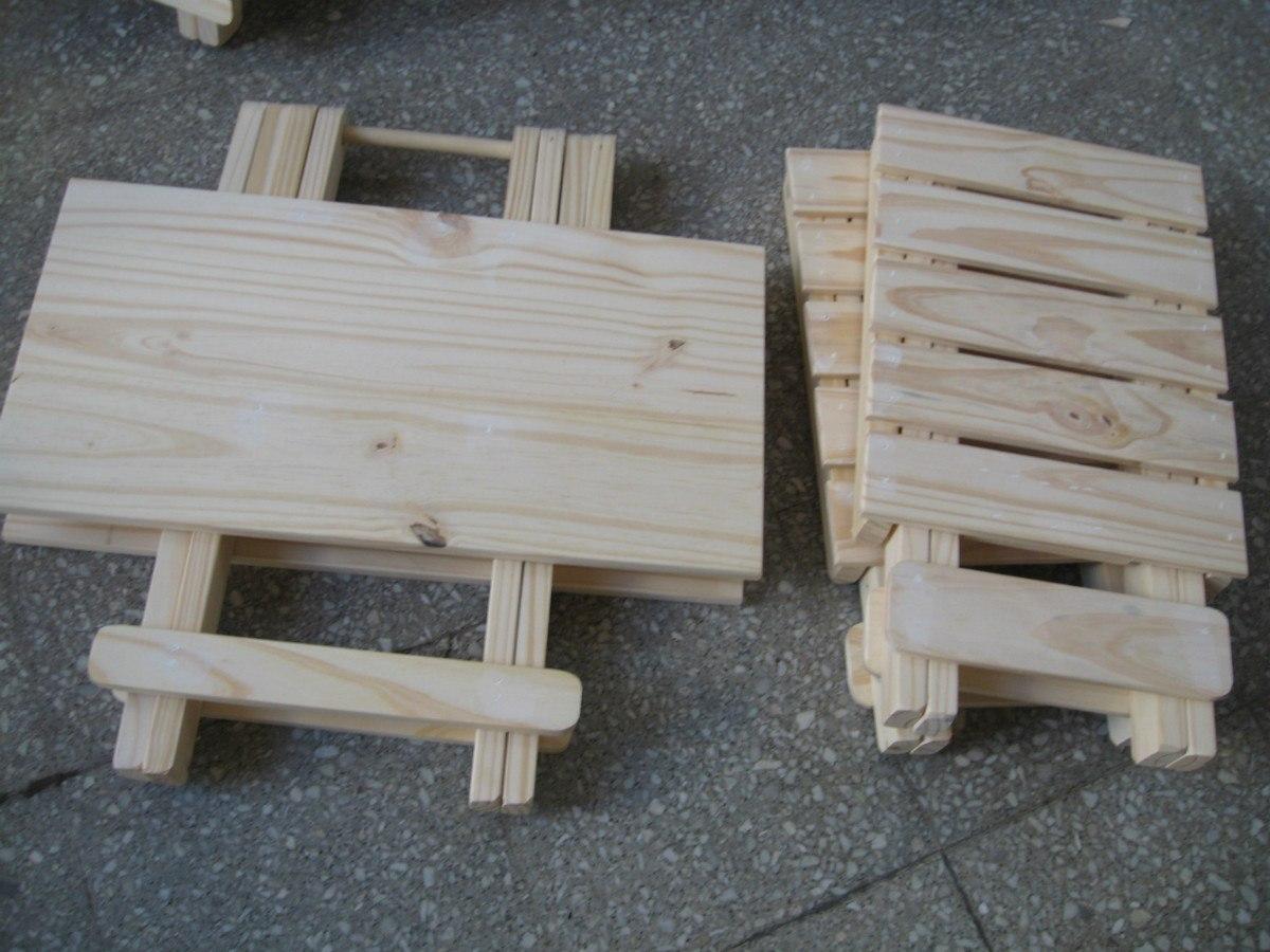 Construir mesa plegable sobuy mesa plegable de for Como hacer una mesa redonda de madera