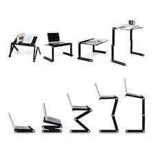 mesa plegable multiusos varias posiciones