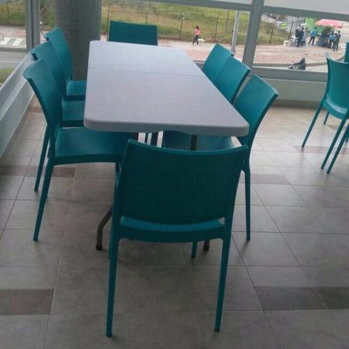 mesa plegable para banquetes 180x74x75