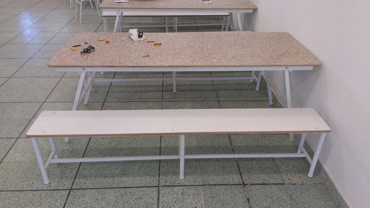 Mesa Plegable Para Comedor Escolar - $ 4.620,00 en Mercado Libre