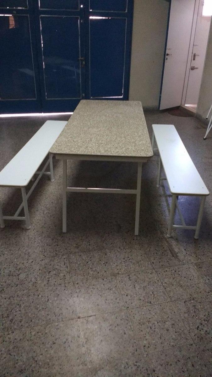 Mesa Plegable Para Comedor Escolar - $ 5.800,00 en Mercado Libre