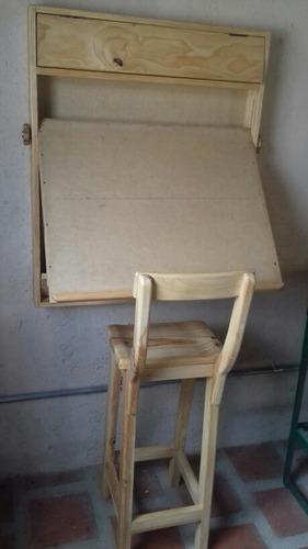 mesa plegable para dibujo etc..