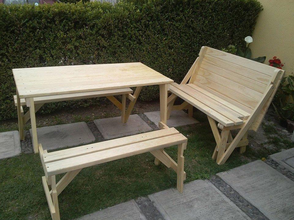 Mesa plegable para picnic 2 en mercado libre for Mesa plegable mercado libre