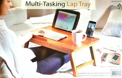 mesa plegable para servicio en cama, 1 pieza