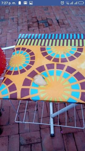 mesa plegable planchado