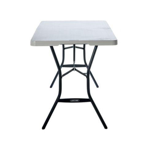 mesa plegable plástica 152 x 71 cm