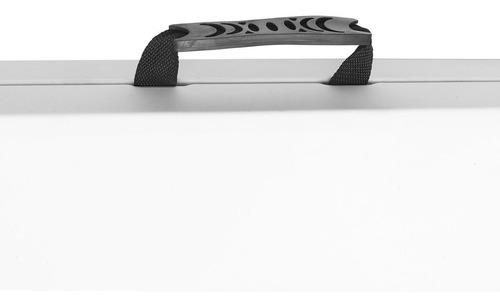 mesa plegable plastico portatil 1.80m evento jardin uso rudo
