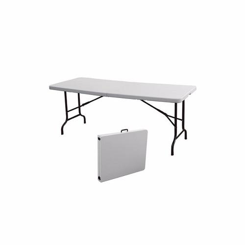 mesa plegable portafolio 2.44  calidad y resistencia
