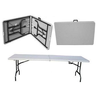 mesa plegable portátil 2 metros para casa o eventos