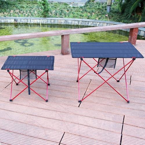 mesa plegable portátil para exteriores ultraligera aleación