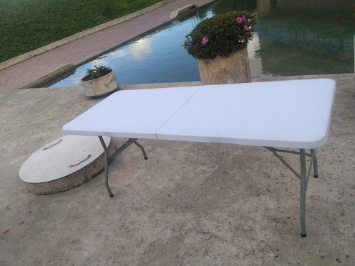 mesa plegable  tipo aletín 180x74x75+envio gratis