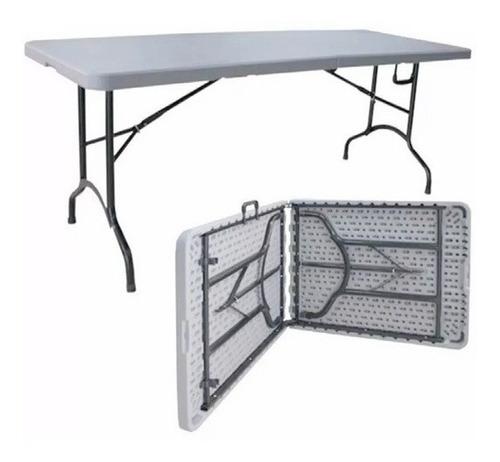 mesa plegable tipo maleta 1.80 m - mr price