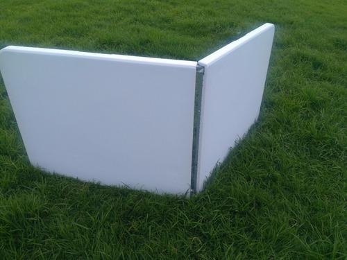 mesa plegable tipo maleta x 3unid 1.80x74x75+envio gratuito