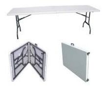 mesa plegable tipo maletín+envio gratis