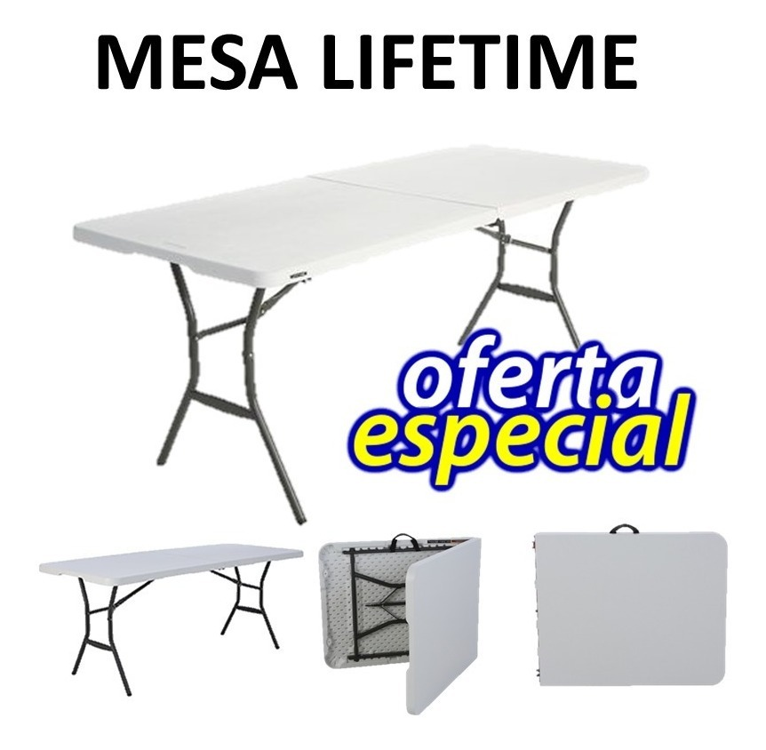 183x76cm Tipo Portatil Plegable Maletin Mesa Envio Gratis WDHIE2eYb9