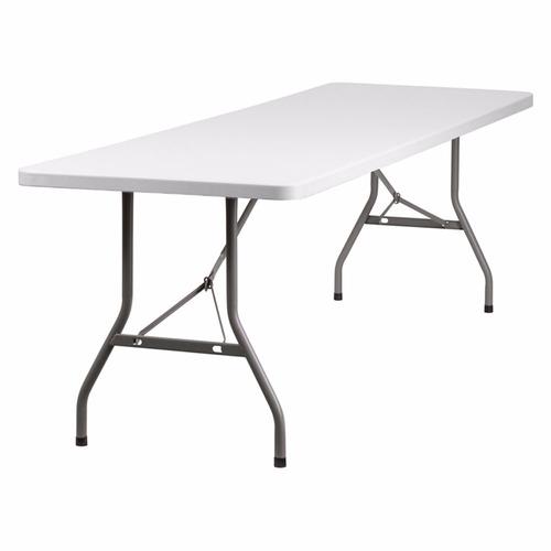 mesa plegable valija 1.8 hogar camping jardin reforzada