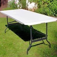 mesa plegable valija pvc reforzada camping premium calidad