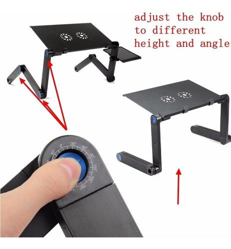 mesa plegable y portátil para laptop de 360º con