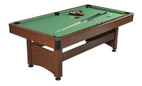 mesa pool  214x118x80 cm madera. gamepower (c/envío stgo)