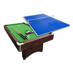 Mesa Pool Con Mesa Ping Pong Y Mesa De Comedor