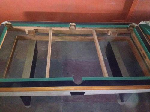 mesa pool profesional pizarra de marmolina.