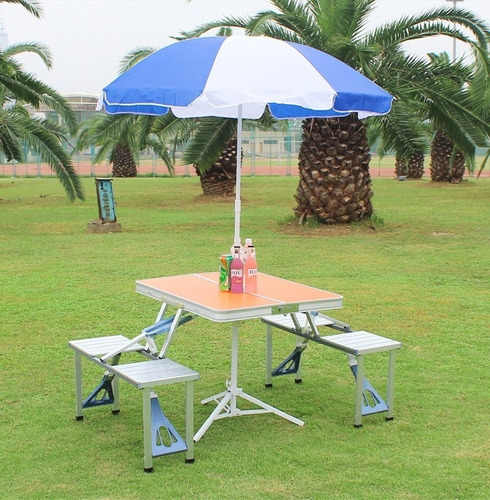 mesa portatil camping plegable oferta
