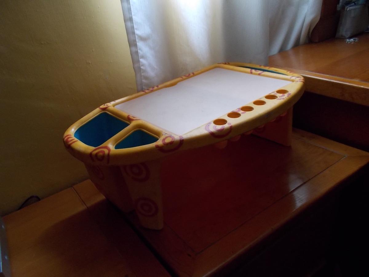 Mesa portatil para cama escritorio laptop en - Mesa portatil cama carrefour ...