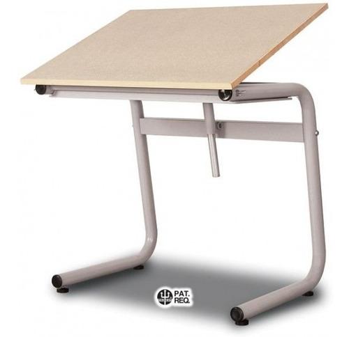 mesa prancheta desenho trident tubular tampo 80x100 tub-10g