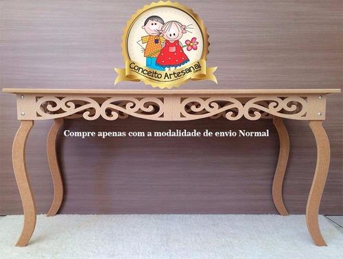 mesa provençal decoração mdf festa luisxv prince 1.00m pé 60