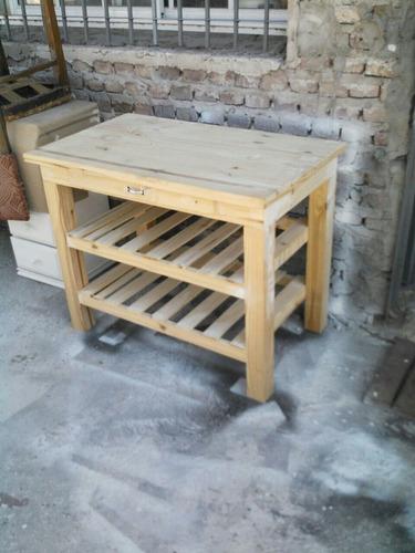 mesa quesera a medida en pino