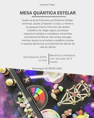 mesa quântica estelar - leitura e harmonização energética