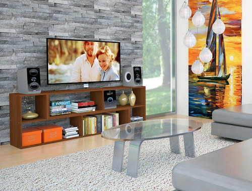 mesa rack audio módulo l tv varios colores envíos argentina!