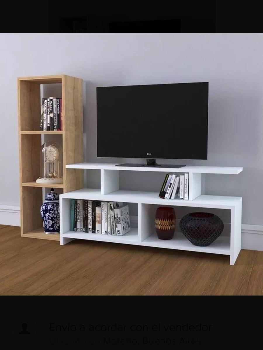 Mesa Rack De Tv Moderna Living Comedor Zona Oeste Módulos