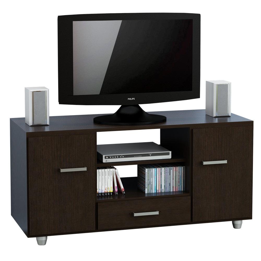 Mesa Rack Tv Lcd Led Mueble Modular 2 Puertas Wengue 1 789 00  # Muebles Sencillos Para Tv