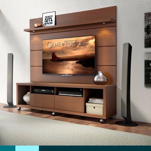 mesa rack tv led hasta 55 1.80mts + panel hr hp1800 env **9