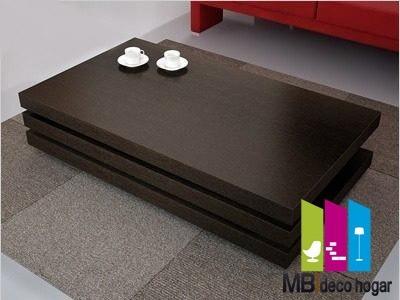mesa ratona 3 niveles, 36mm de espesor mod 3