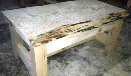 mesa ratona , artesanal robusta , rustica