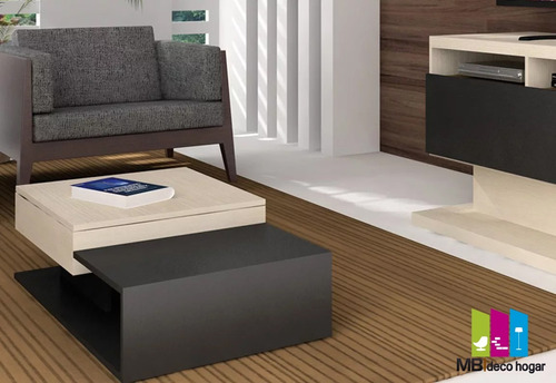 mesa ratona con baulera moderna. ¡armada! mod 5