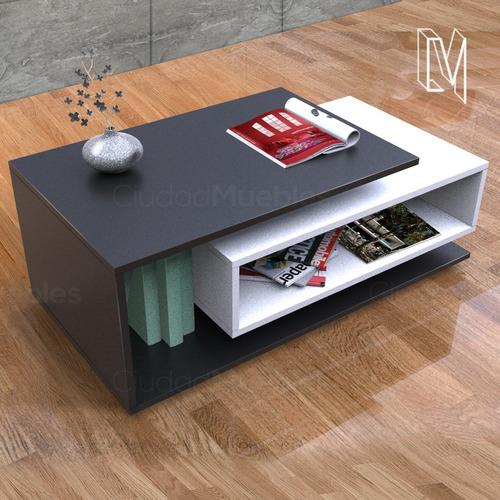 mesa ratona de centro - diseño moderno exclusivo
