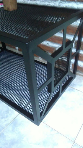 mesa ratona de hierro artesanal (artesanal)
