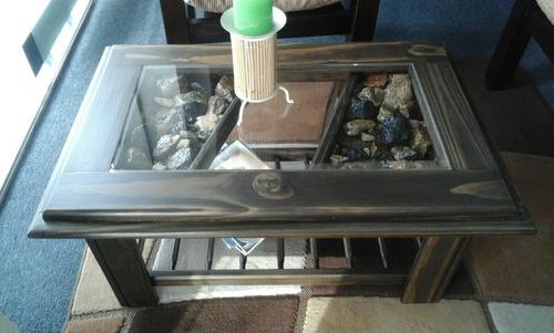 mesa ratona de living - composse equipamientos