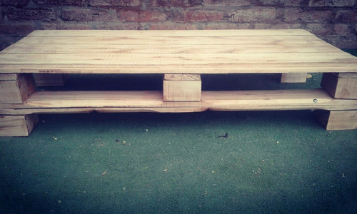 mesa ratona de pallet