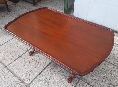 mesa ratona estilo colonial inglés sheraton - no francés