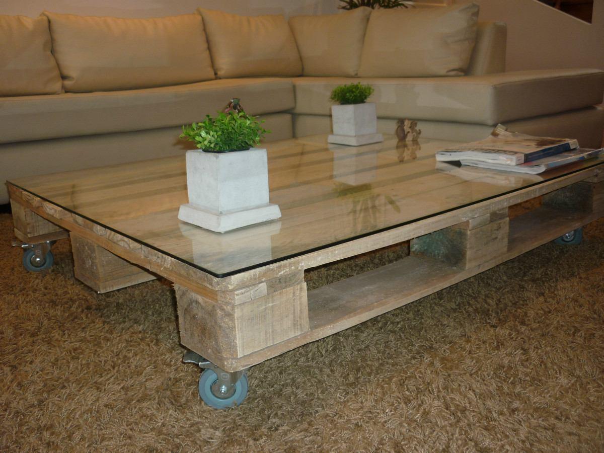 Mesas hechas con palets mesa palet pintada color verde - Mesa de palets ...